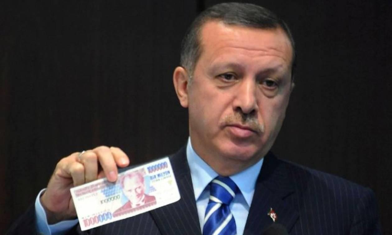 Ερντογάν και Τουρκία «βουλιάζουν» παράλληλα