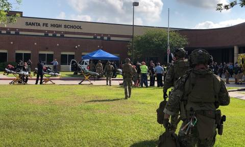 Santa Fe school shooting: 10 dead and 10 wounded in Texas
