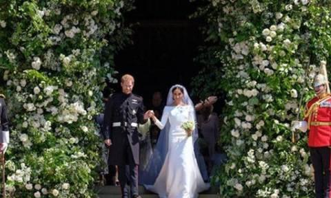 Γάμος πρίγκιπα Harry-Meghan Markle: H πριγκιπική βόλτα του ζευγαριού!