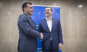 Τσίπρας: Καλωσορίζουμε την αποδοχή των Σκοπίων για λύση erga omnes