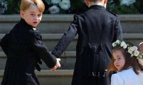 Γάμος πρίγκιπα Harry - Meghan: «Έκλεψαν» τις εντυπώσεις πριγκίπισσα Charlotte και πρίγκιπας George