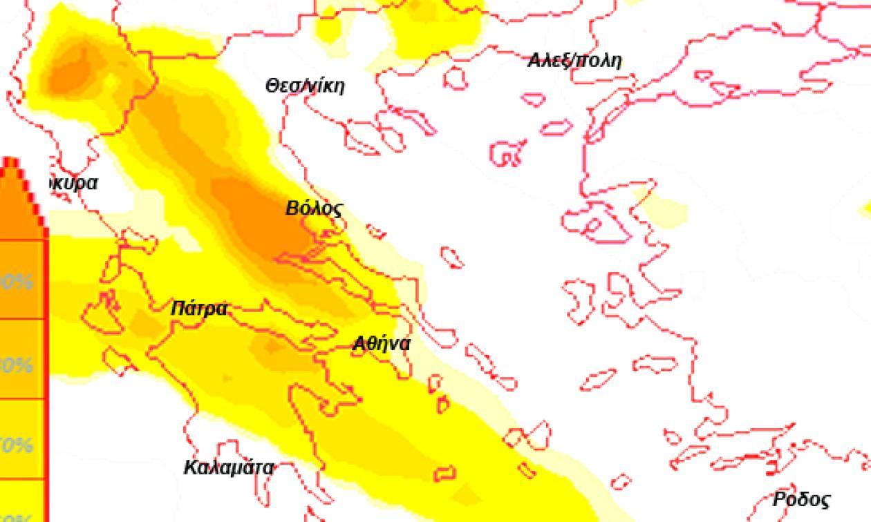 Η πρόγνωση του καιρού από τον Σάκη Αρναούτογλου: Δείτε πότε και πού θα ρίξει… καρεκλοπόδαρα!