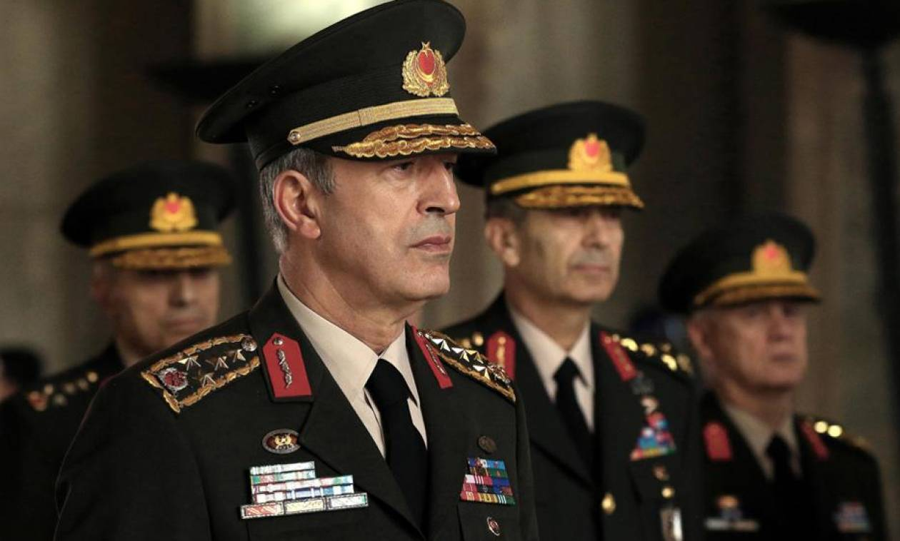 «Βόμβα» από τον Αρχηγό του τουρκικού στρατού: Θα εκτελέσουμε το καθήκον μας στο Αιγαίο