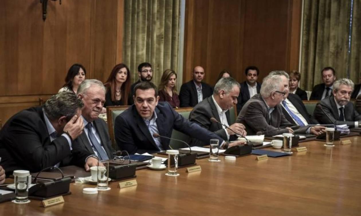 Συνεδρίαση του υπουργικού συμβουλίου υπό τον Αλέξη Τσίπρα