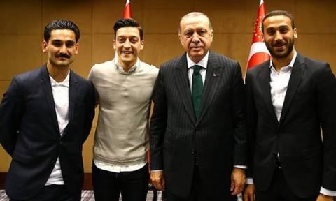 Παρεξήγηση το «πρόεδρός μας ο Ερντογάν» λένε τώρα οι Γερμανοί διεθνείς