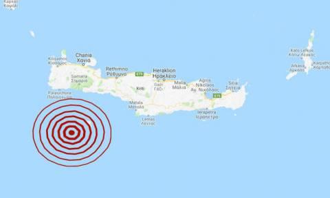 В районе Гавдоса произошло землетрясение 4,3 балла