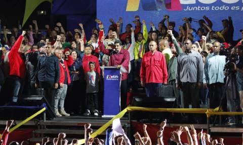 Επανεξελέγη πρόεδρος της Βενεζουέλας ο Νικολάς Μαδούρο
