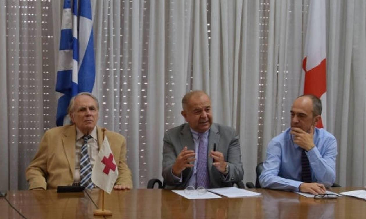 Εξώδικο Αυγερινού στην προσωρινή διοίκηση του Ελληνικού Ερυθρού Σταυρού