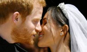 Δες την πρώτη επίσημη φωτογράφηση του πρίγκιπα Harry με την Meghan Markle ως παντρεμένο ζευγάρι!