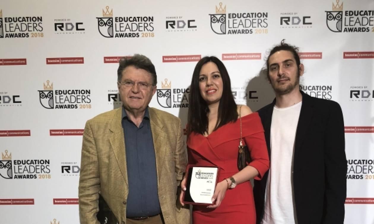 Χρυσό βραβείο για το ΙΕΚ ΑΛΦΑ Θεσσαλονίκης στον κορυφαίο θεσμό «Education Leaders Awards 2018»!