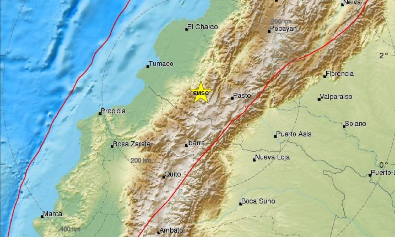 Ισχυρός σεισμός 5 Ρίχτερ στην Κολομβία