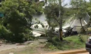 Συνετρίβη αεροσκάφος στην Ονδούρα - Τουλάχιστον έξι τραυματίες