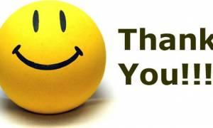 Απίστευτο: Δείτε πόσες φορές καθημερινά λέμε «ευχαριστώ»;