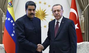 Νέα πρόκληση Ερντογάν προς ΗΠΑ: Συνεχάρη τον Νικολάς Μαδούρο