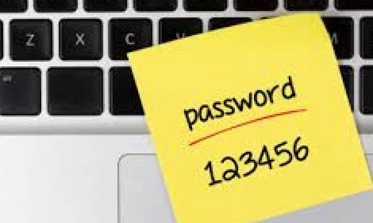 Αυτά τα είναι τα πιο συνηθισμένα αλλά και επικίνδυνα password για το 2017
