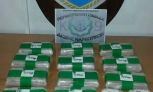 Ηγουμενίτσα: Χειροπέδες σε δύο που μετέφεραν 6,5 κιλά ηρωίνης