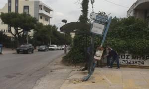 Μαρτυρία - ντοκουμέντο για το τροχαίο δυστύχημα στη Μεταμόρφωση (pics&vid)