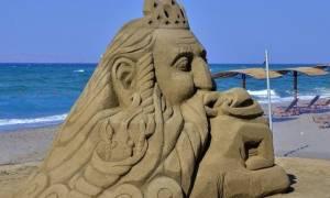 Αμμουδάρα: Για τρίτη χρονιά το Φεστιβάλ Γλυπτικής στην άμμο