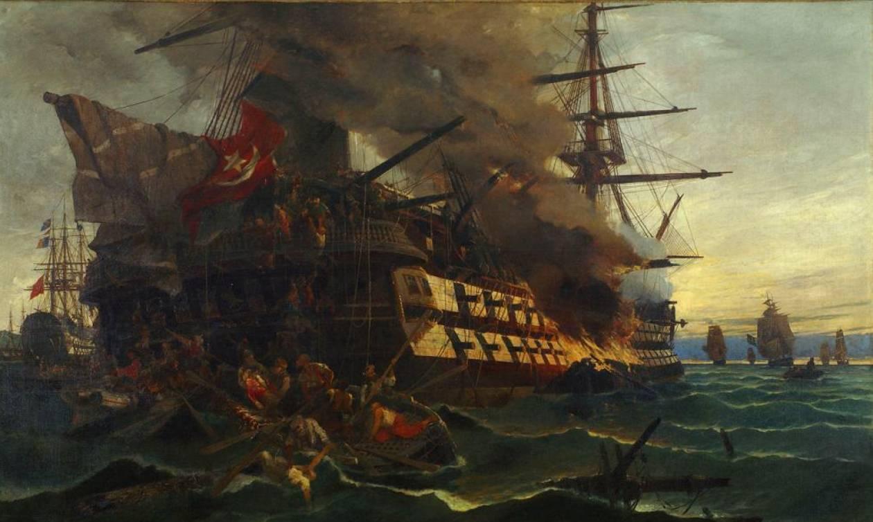 Σαν σήμερα το 1821 ο ήρωας Δημήτρης Παπανικολής πυρπολεί την τουρκική ναυαρχίδα στη Μυτιλήνη