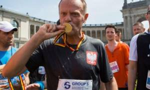 Ο Ντόναλντ Τουσκ δρομέας: «Πιο εύκολα τα 20 χλμ. από τις συνόδους του Ευρωπαϊκού Συμβουλίου»