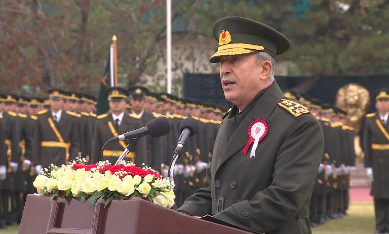Προκαλεί ο Αρχηγός του τουρκικού στρατού: Θα προστατεύσουμε τα συμφέροντά μας σε Αιγαίο και Κύπρο