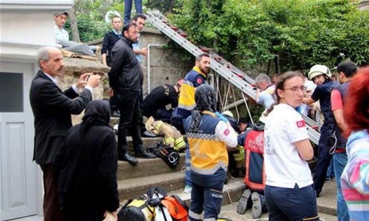 Σοκ: Ελληνίδα έπεσε σε πηγάδι βάθους 30 μέτρων στην Κωνσταντινούπολη