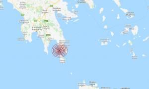 Σεισμός κοντά στην Ελαφόνησο (pics)