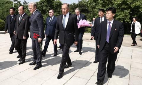 Лавров прибыл в столицу КНДР