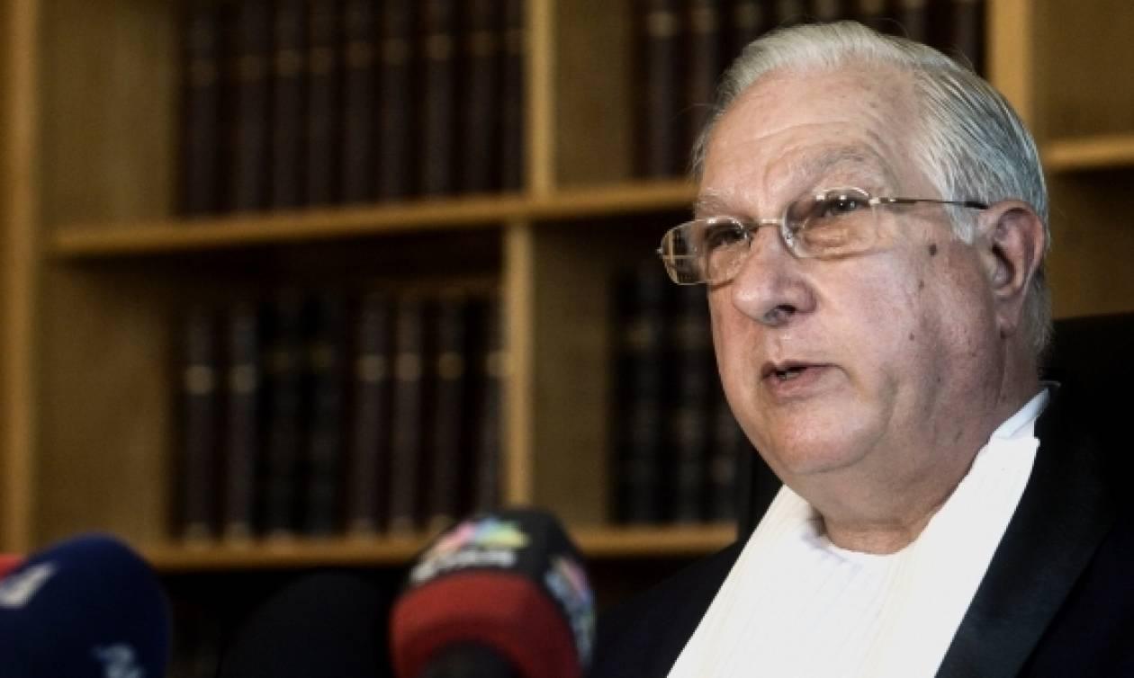 Απειλητική επιστολή κατά του πρώην προέδρου του ΣτΕ, Νίκου Σακελλαρίου