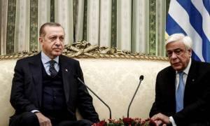 Ο Ερντογάν έστειλε μήνυμα στον Παυλόπουλο: Δείτε τι του είπε