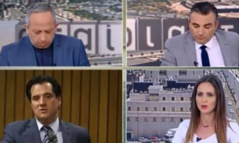 Άγριος καβγάς on air: «Ντροπή σου που υπερασπίζεσαι τη χυδαιότητα!» - «Μη μας κάνεις υποδείξεις!»