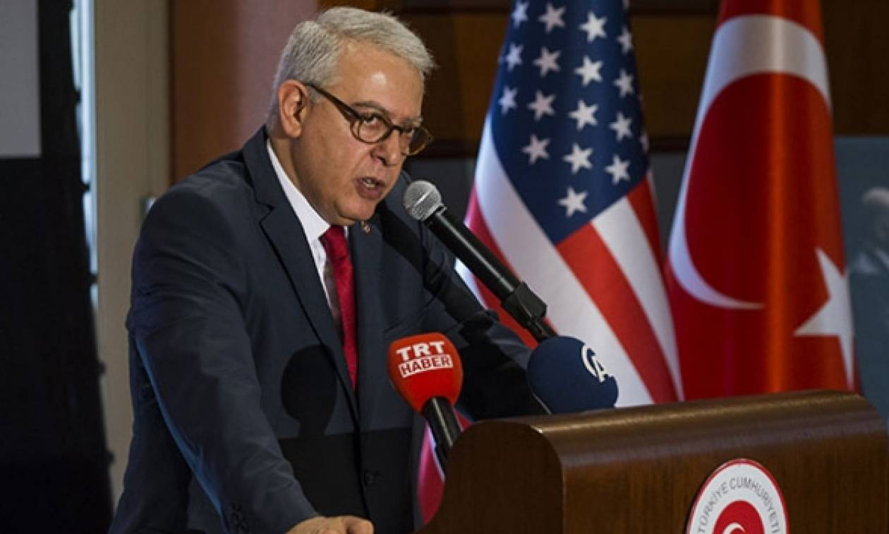 Επιστρέφει στις ΗΠΑ ο Τούρκος πρεσβευτής που είχε ανακληθεί