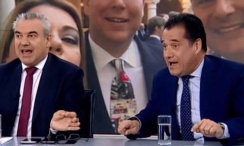 Άγριος καβγάς on air Γεωργιάδη με Μπγιάλα (vid)