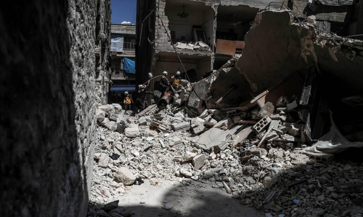Τραγωδία στη Συρία: Δώδεκα μέλη της ίδιας οικογένειας σκοτώθηκαν σε βομβαρδισμούς