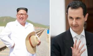 Συνάντηση Κιμ Γιονγκ – Ουν και Μπασάρ αλ Άσαντ