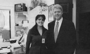 ΗΠΑ: Αμετανόητος ο Κλίντον 20 χρόνια μετά το σκάνδαλο Λεβίνσκι
