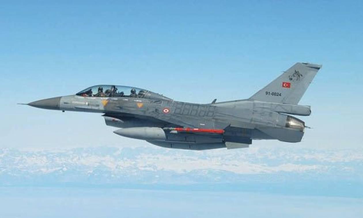 Συναγερμός στο Αιγαίο: Υπερπτήσεις τουρκικών μαχητικών πάνω από τέσσερα ελληνικά νησιά