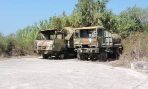 Αποκάλυψη - σοκ: Τα οχήματα του ελληνικού στρατού φοράνε τουρκικά λάστιχα