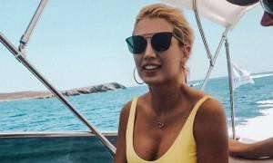 Η Κωνσταντίνα Σπυροπούλου με και χωρίς photoshop