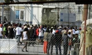 Μυτιλήνη: Αιματηρό επεισόδιο μεταξύ μεταναστών στη Μόρια