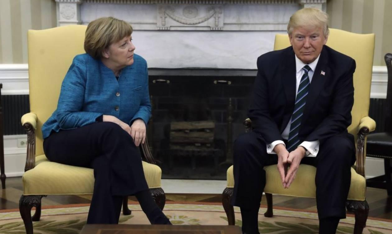 Έτοιμη για σύγκρουση με τις ΗΠΑ στη Σύνοδο των G7 η Μέρκελ