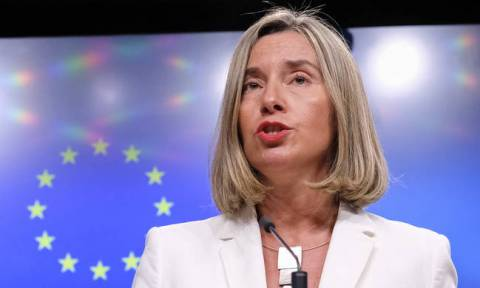 Mogherini sternly condemns Turkey's aggression