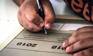 Πανελλήνιες 2018: Αυτά είναι τα SOS θέματα για την Έκθεση