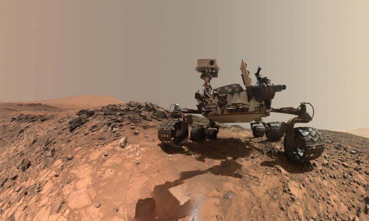 Σημαντική ανακάλυψη της NASA: Βρέθηκε οργανική ύλη στον «κόκκινο» πλανήτη