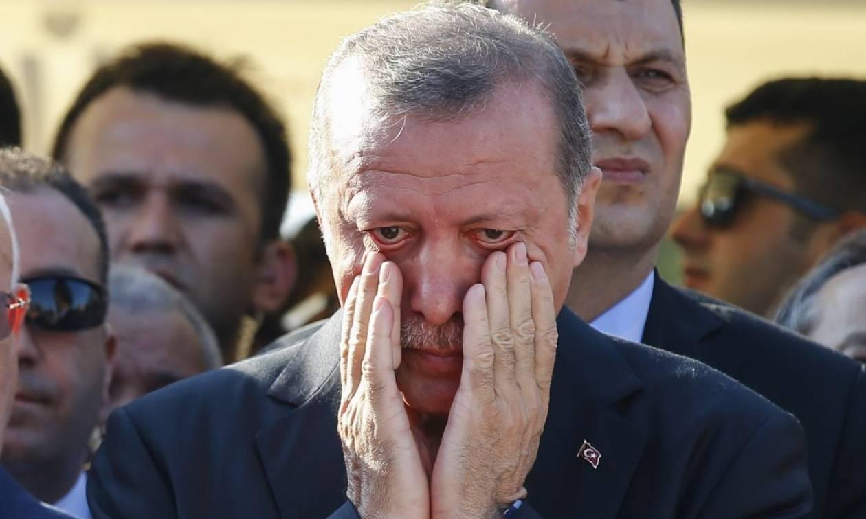 Θρήνος για τον Ερντογάν (pics)