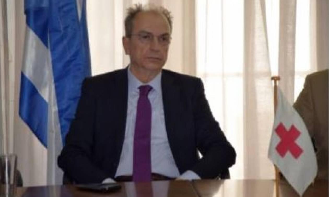 Νέος πρόεδρος του Ελληνικού Ερυθρού Σταυρού ο Νικόλαος Οικονομόπουλος