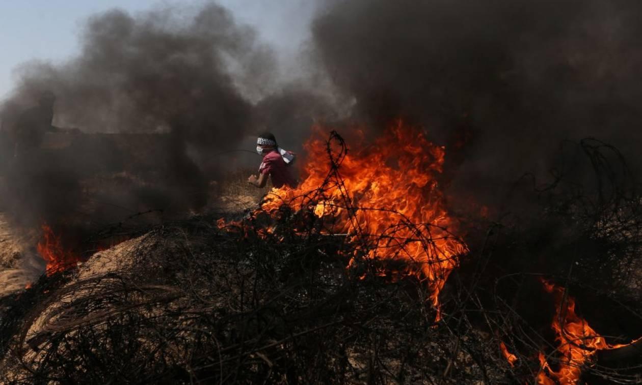 Χωρίς τέλος η αιματοχυσία στη Γάζα: «Κόλαση» με τρεις νεκρούς και εκατοντάδες τραυματίες (vid+pics)