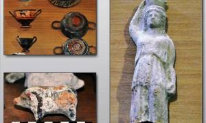 Φθιώτιδα: Αυτός είναι ο θησαυρός με τα αρχαία που αποκάλυψε η πυρκαγιά (pics)