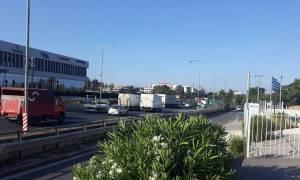 Τροχαίο στην Αθηνών - Λαμίας - Μεγάλο μποτιλιάρισμα