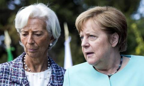 Chancellor Merkel to meet IMF chief Lagarde
